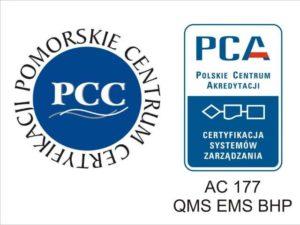 CERTYFIKACJA ISO 9001